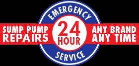 24-Hour Emergency Sump Pump Repairs