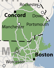 Our Massachusetts & New Hampshire Service Area